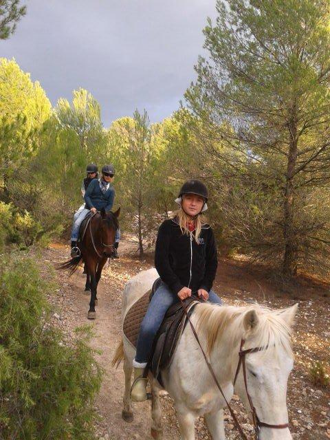 rutas a caballo y más